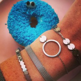 Armband double triple zilver – ZAG Bijoux
