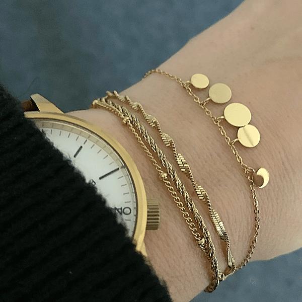 gouden armbanden zag bijoux