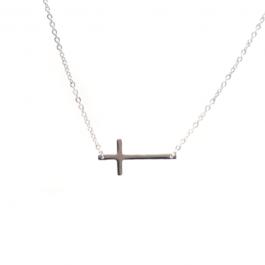 Ketting kruisje zilver – ZAG Bijoux