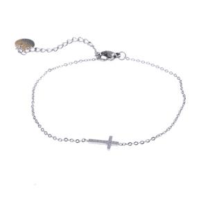 armband-kruisje-zilver-Go-Dutch-label