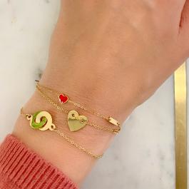 Armband hart rose goud – ZAG Bijoux