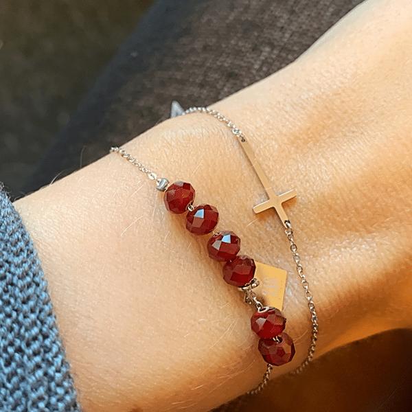 armband zilver zag bijoux