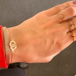 Armband cartier 2.0 rose goud – ZAG Bijoux