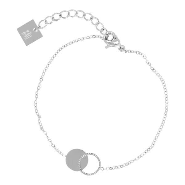 Made by Mila | Armband cirkel/rondjes zilver – ZAG Bijoux 1
