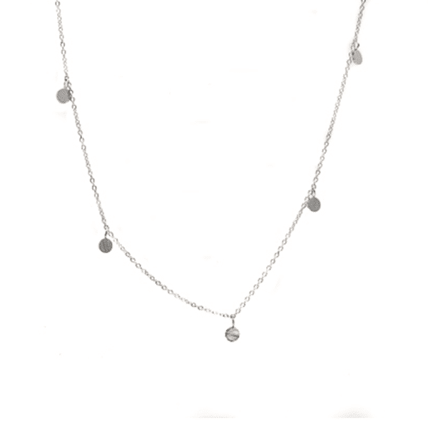 Made by Mila | Kettingen Coins ketting lang zilver Go Dutch Label 1