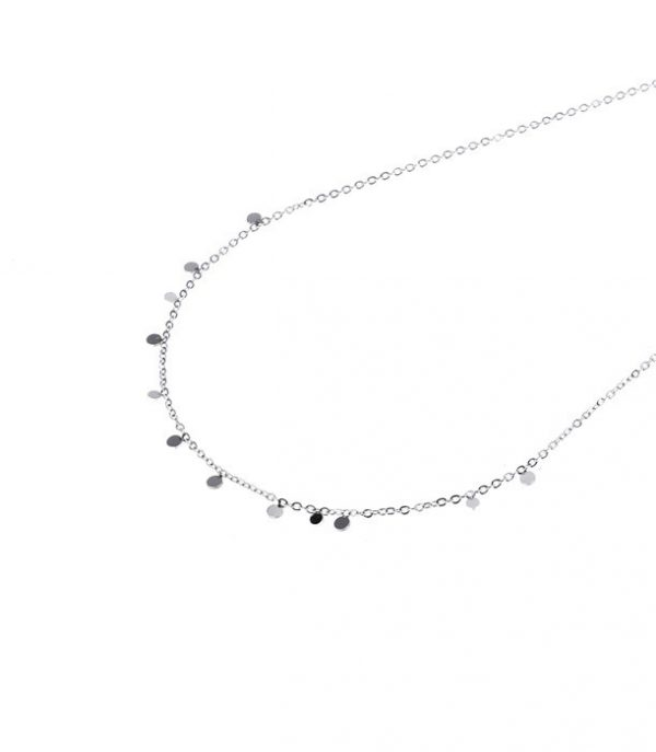 Made by Mila | Ketting mini coins zilver – Go Dutch Label 3