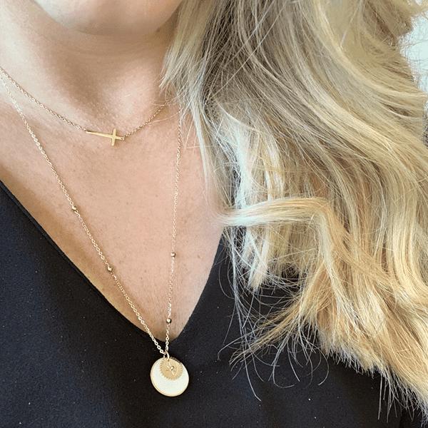 Made by Mila   Ketting kruisje goud - ZAG Bijoux 2