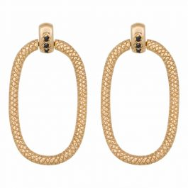 Door Knocker earrings gold – Eline Rosina oorbellen