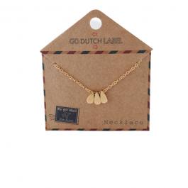 Kettingen druppels goud – Go Dutch Label