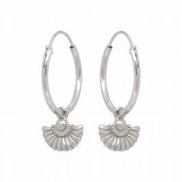 Deco waiver sterling silver – Eline Rosina oorbellen