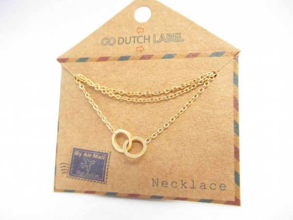 Made by Mila | Ketting cartier goud - Go Dutch Label 2