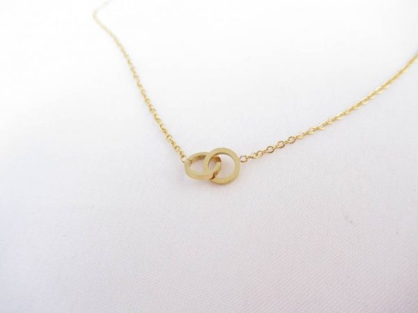 Made by Mila | Ketting cartier goud - Go Dutch Label 1