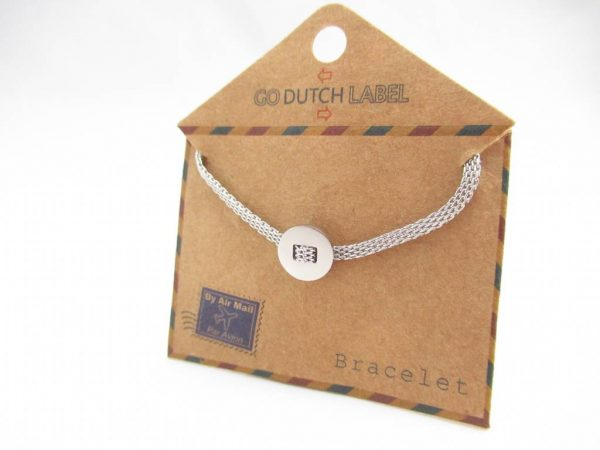 Made by Mila | Armbanden basic zilver - Go Dutch Label 3