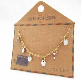 Armband coins goud/zilver – Go Dutch Label