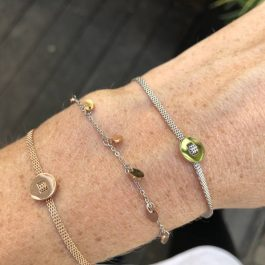 Armband coins zilver/rose goud – Go Dutch Label