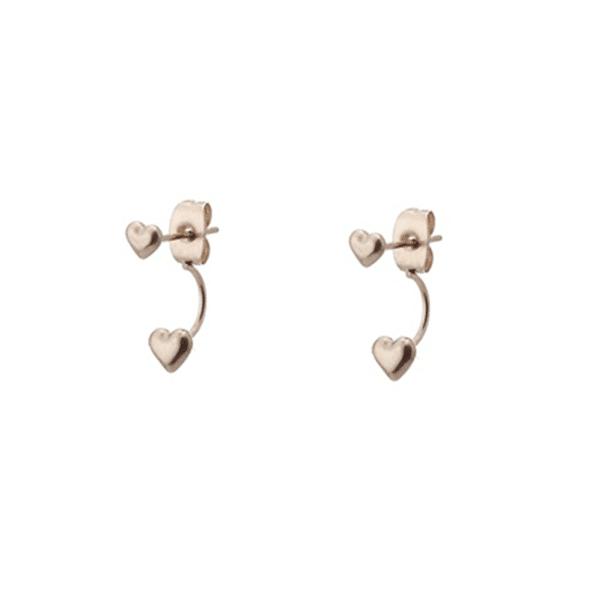 oorbellen hartje-dubbele-sluiting-goud