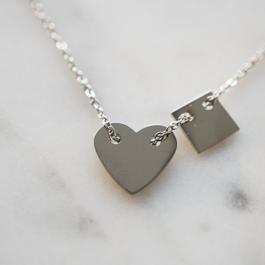 Armband hartje zilver – ZAG Bijoux