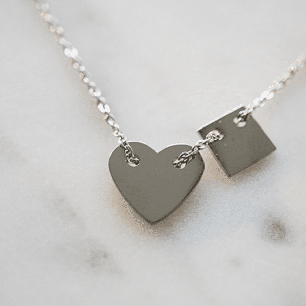 Made by Mila | Armband hartje zilver – ZAG Bijoux 2