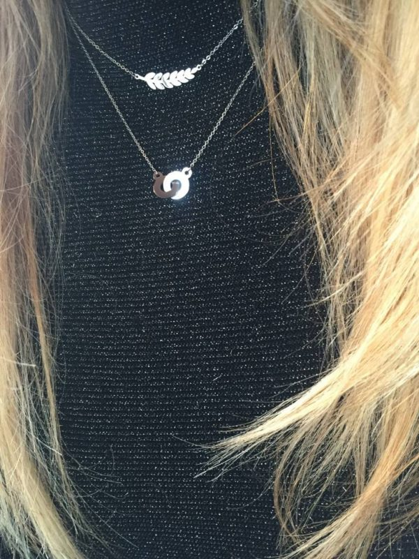 Made by Mila | Cartier two rings zilver ketting - ZAG Bijoux 2