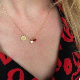 Love rood hartje goud – ZAG Bijoux