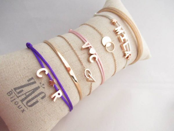 Made by Mila | Armband met initialen- Custom Made by Mila 3
