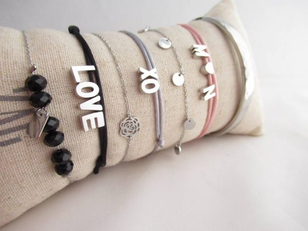 Made by Mila | Armband met initialen- Custom Made by Mila 4
