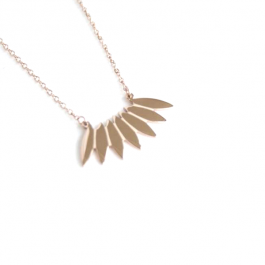 Ketting Indian summer rose goud – ZAG Bijoux