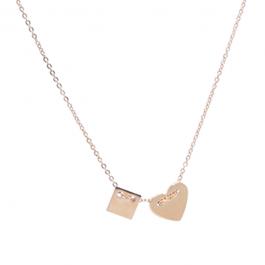 Ketting hartje goud – ZAG Bijoux