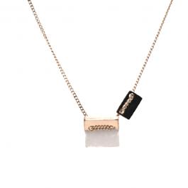 Ketting marble goud – ZAG Bijoux
