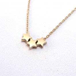 Ketting stars rose goud – Go Dutch Label