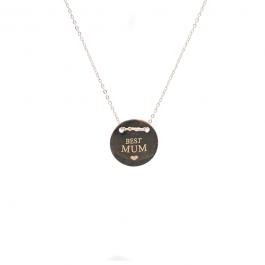 Best mum ketting zilver – ZAG Bijoux