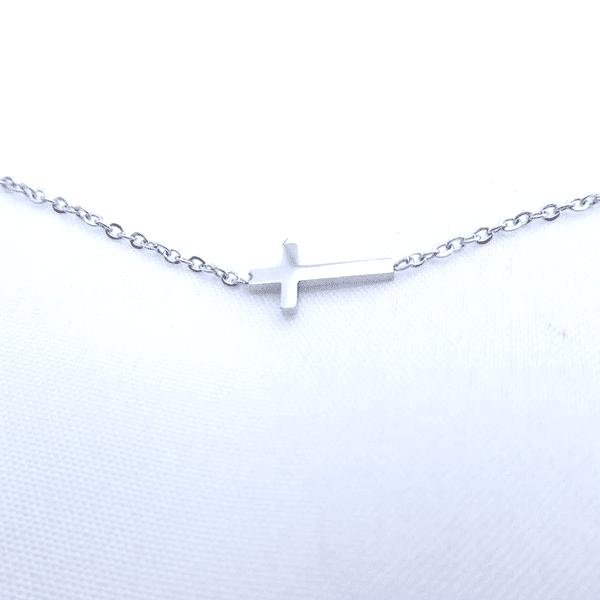 ketting kruisje zilver go dutch label