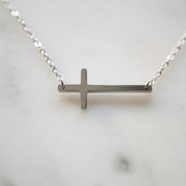 Armband kruisje zilver – ZAG Bijoux