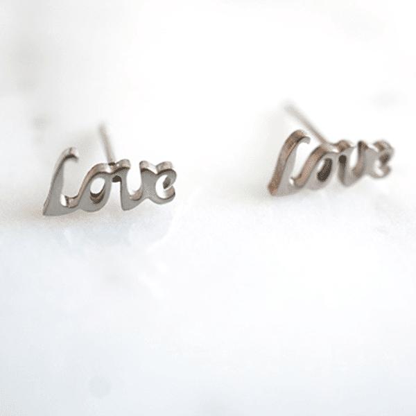 love-oorbellen-zilver