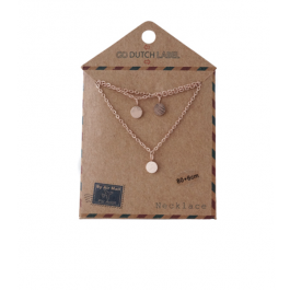 Ketting coins lang goud – Go Dutch Label