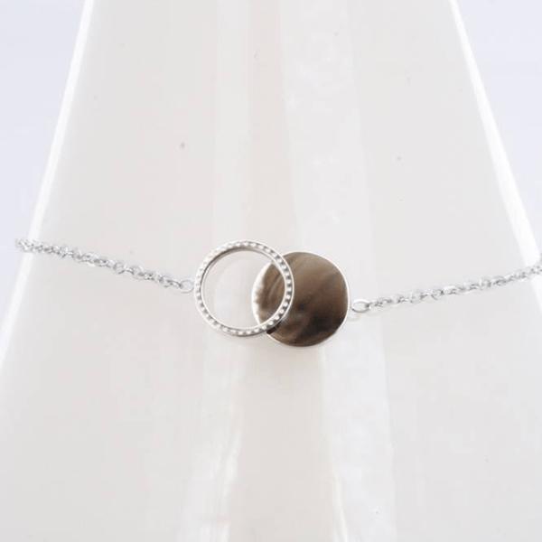 Made by Mila | Armband cirkel/rondjes zilver – ZAG Bijoux 3