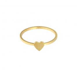 Ring goud hartje – Mila