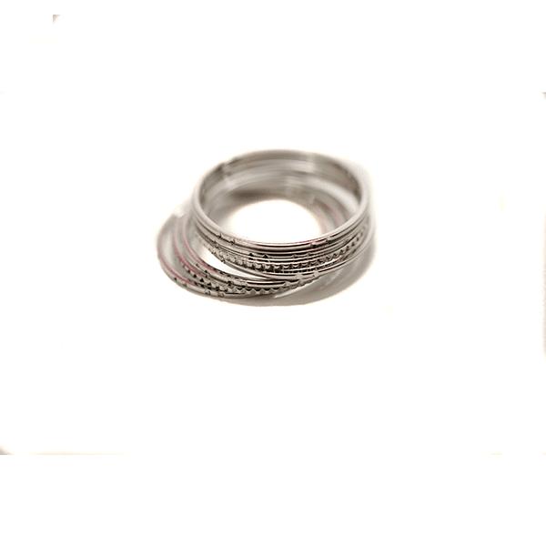 Made by Mila | 7 losse ringen zilver - ZAG Bijoux 2