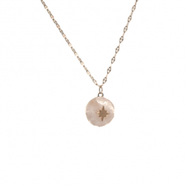 Ketting rozenkwarts goud – ZAG Bijoux
