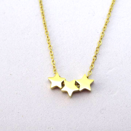 Ketting stars goud – Go Dutch Label