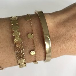 Armband coins rose goud – ZAG Bijoux