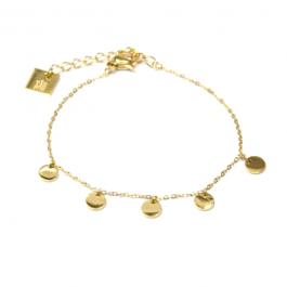 Armband coins goud – ZAG Bijoux