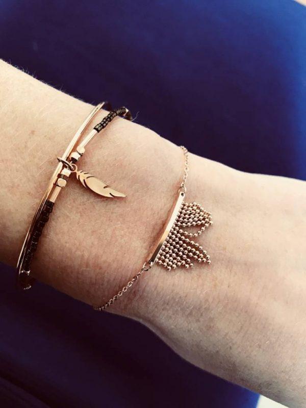 Made by Mila | Armband bohemian zilver - ZAG Bijoux 2