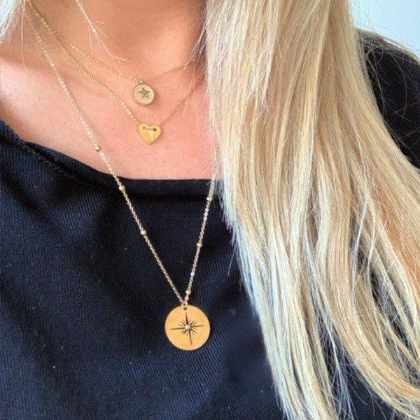 Made by Mila | Ketting hartje goud - ZAG Bijoux 1