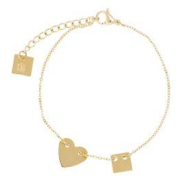 Armband hartje goud – ZAG Bijoux