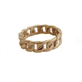 Schakelring goud – ZAG Bijoux