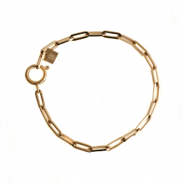 Schakelarmband goud – ZAG Bijoux