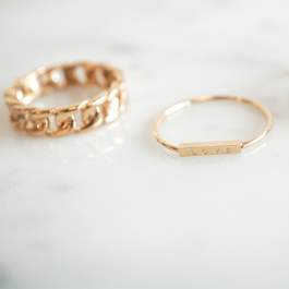 Love ring goud – ZAG Bijoux