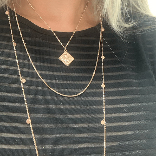 Ketting goud go dutch label