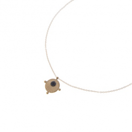 Ketting goud black sun- Go Dutch Label